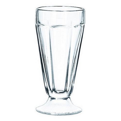 SODA GLASS PANELLED 370ML FOUNTAINWARE LIBBEY