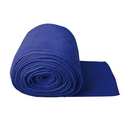 BAR RUNNER TOWEL 280MM BLUE ROYAL- PER MTR