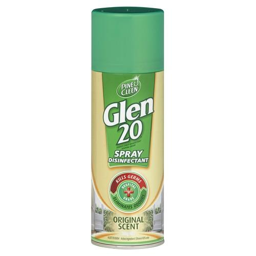 GLEN 20 DISINFECTANT SPRAY ORIGINAL AERO 300GM