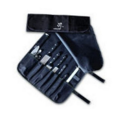 KNIFE WRAP 7 POCKET BLACK AUSSIE  CHEF