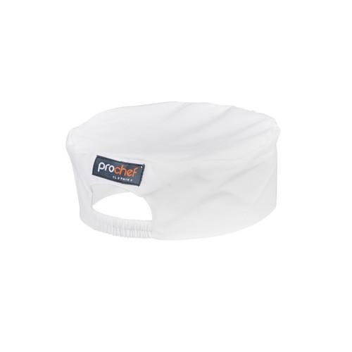 BOX HAT P/C  WHITE LARGE PROCHEF