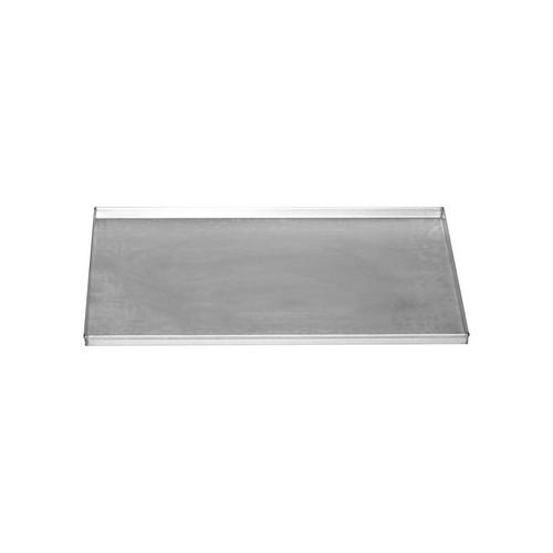 BAKING SHEET ALUSTEEL RECT 600X400X20MM STRAIGHT SIDES