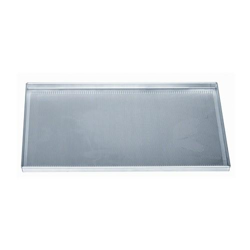 BAKING SHEET ALUSTEEL RECT 600X400X20MM PERFORATED STRAIGHT SIDES