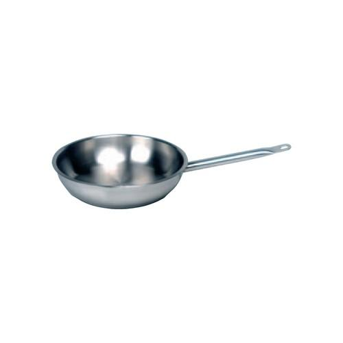 FRYPAN S/S 245X50MM ELITE CHEF INOX