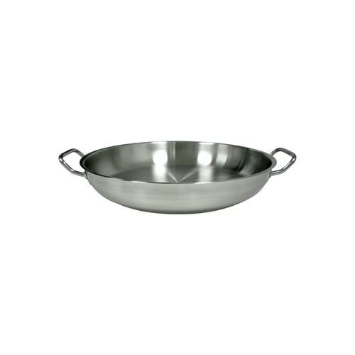 PAELLA PAN S/S 400X75MM N/L ELITE CHEF INOX