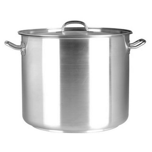STOCKPOT S/S 50L 400X400MM W/L ELITE CHEF INOX