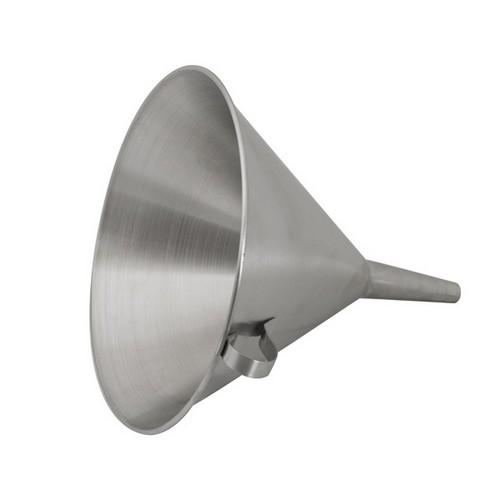 FUNNEL S/S 300MM W/STRAINER CATERCHEF