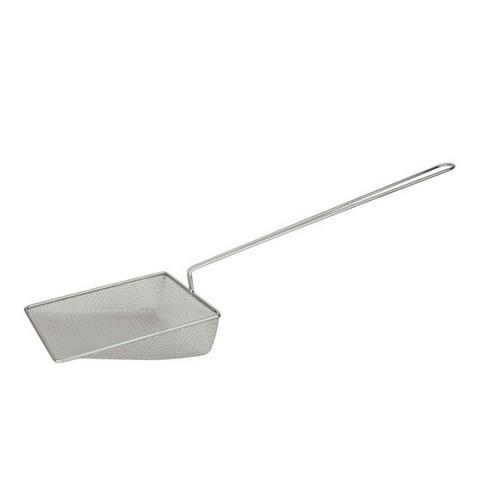 CHIP SHOVEL CHROME COARSE MESH SQUARE 220MM