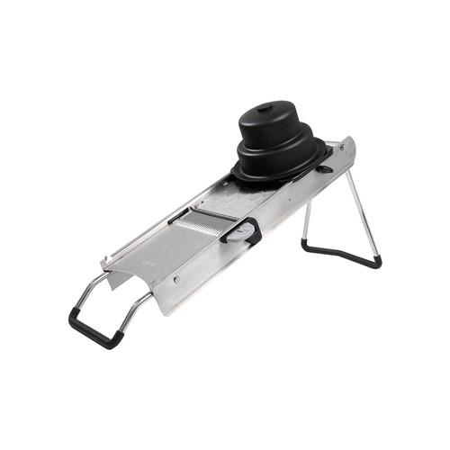 MANDOLIN SLICER S/S W/PUSHER & 2 BLADES DE BUYER