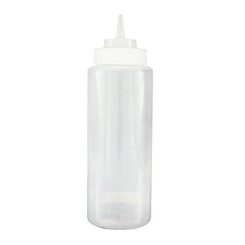 SAUCE / SQUEEZE BOTTLE PLASTIC CLEAR 1L