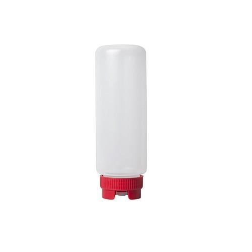 SAUCE / SQUEEZE BOTTLE PLASTIC CRIKO 1L RED LID