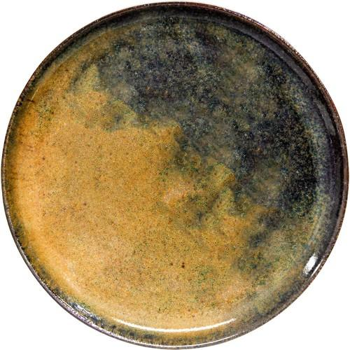 PLATE ROUND PIZZA 330MM REACTIVE BROWN ARTISTICA