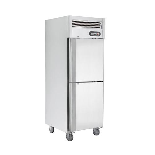 FREEZER UPRIGHT 1 SOLID S/S SPLIT DOOR 580L SALTAS