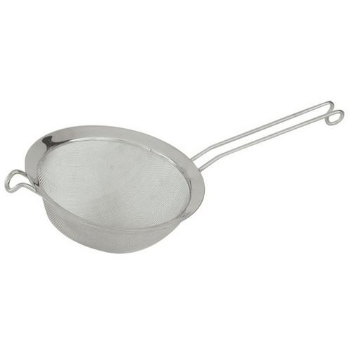 STRAINER ROUND MESH S/S 80MM WIRE HOOK HANDLE
