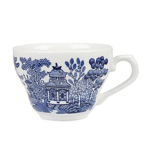 CUP TEA / COFFEE 198ML BLUE WILLOW CHURCHILL