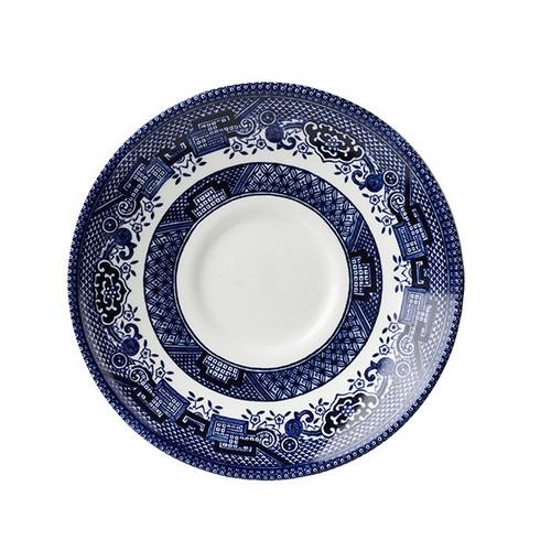 SAUCER FOR CUP 141MM BLUE WILLOW CHURCHILL