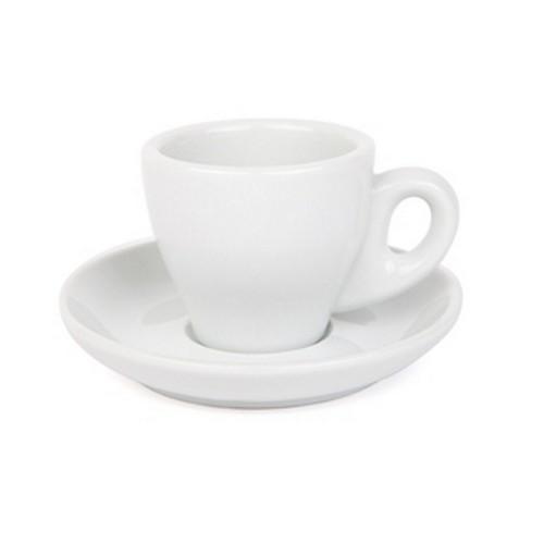 ESPRESSO CUP & SAUCER 90ML WHITE