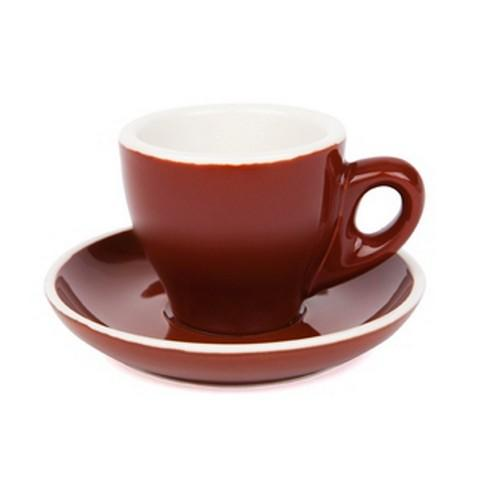 ESPRESSO CUP & SAUCER 90ML BROWN