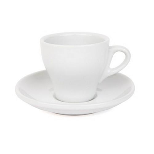 COFFEE CUP & SAUCER 180ML WHITE