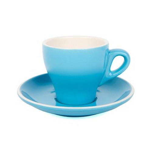 COFFEE CUP & SAUCER 180ML SKY BLUE