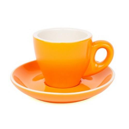 ESPRESSO CUP & SAUCER 90ML ORANGE