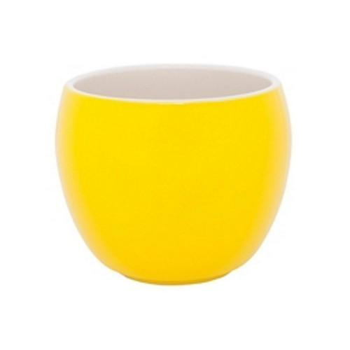 SUGAR STICK HOLDER / MUG YELLOW