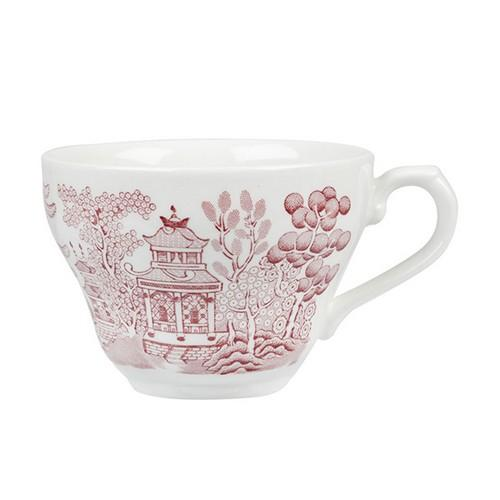 CUP TEA / COFFEE 198ML CRANBERRY WILLOW CHURCHILL