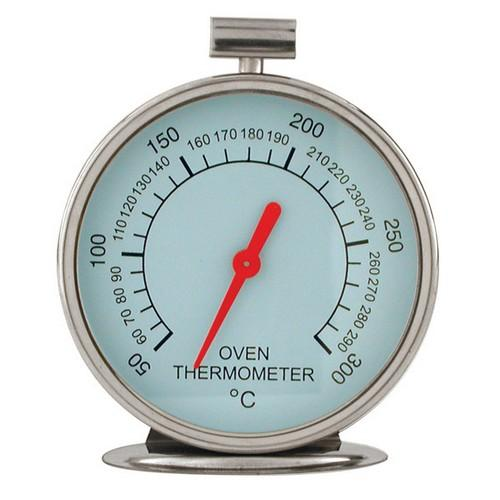 THERMOMETER DIAL OVEN S/S 75MM 50c TO 300c