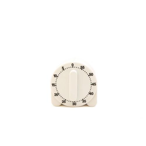TIMER COUNTDOWN MECHANICAL FPLASTIC 60 MIN CUISENA