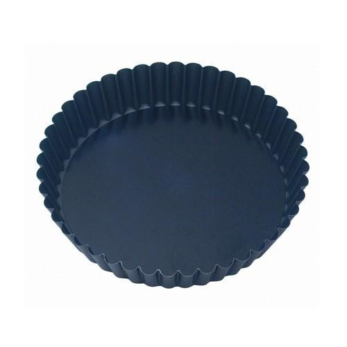 CAKE PAN NON STICK FLUTED 100x30MM LOOSE BASE GUERY