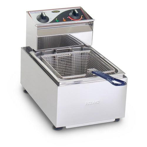 FRYER BENCHTOP SINGLE PAN 5L 1 BASKET 2300W 10AMP ROBAND
