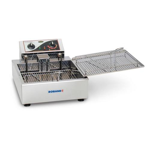 FRYER DONUT SINGLE PAN 8.5L 2300W 10AMP ROBAND