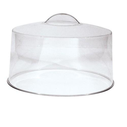 CAKE COVER ACRYLIC MOULDED HANDLE 300MM