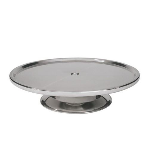 CAKE STAND S/S LOW 300X70MM