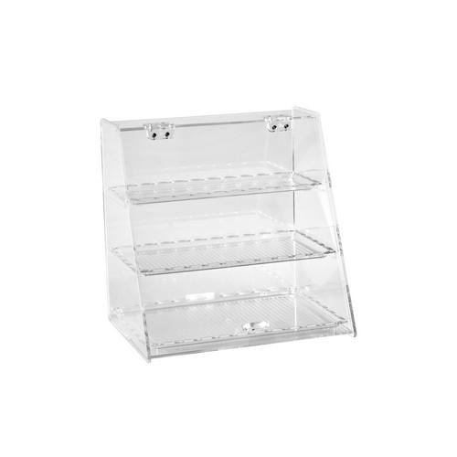 DISPLAY CABINET ACRYLIC 3 SHELF 250X340X340MM ZICCO