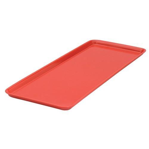 PLATTER RECT 390X150MM RED MELAMINE RYNER