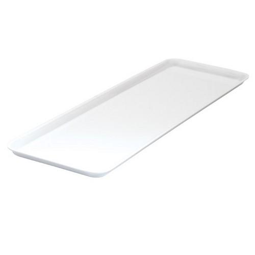 PLATTER RECT 500X180MM WHITE MELAMINE RYNER