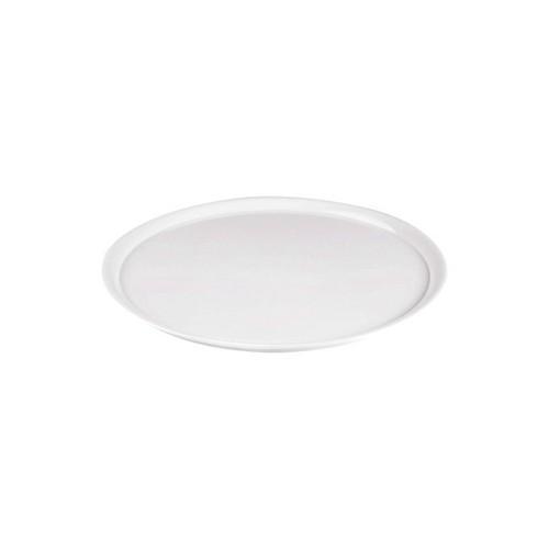 PLATE ROUND PIZZA 330MM WHITE MELAMINE RYNER
