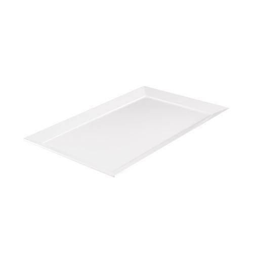 PLATTER RECT W/R 480X300MM WHITE MELAMINE RYNER
