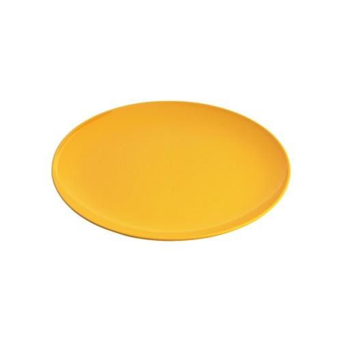 PLATE ROUND COUPE 250MM YELLOW MELAMINE GELATO JAB