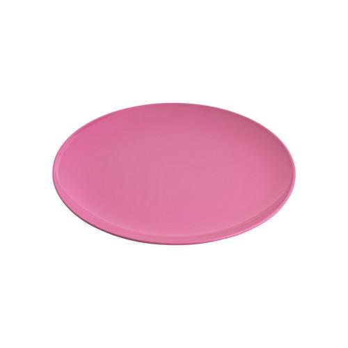 PLATE ROUND COUPE 250MM HOT PINK MELAMINE GELATO JAB