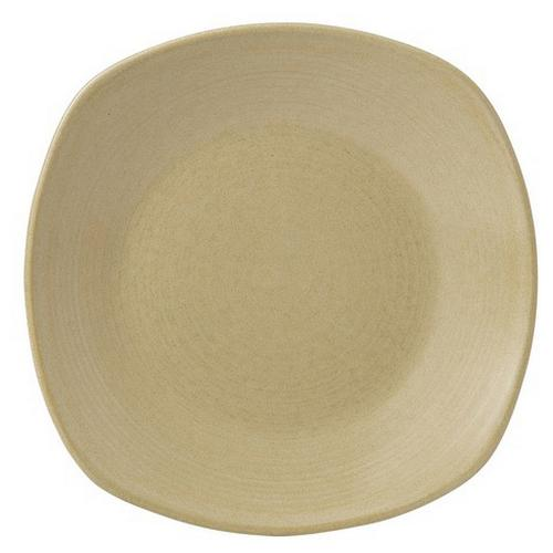 PLATE SQUARE CHEFS 216MM SAND EVOLUTION DUDSON
