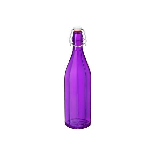 BOTTLE GLASS 1L PURPLE OXFORD BORMIOLI ROCCO