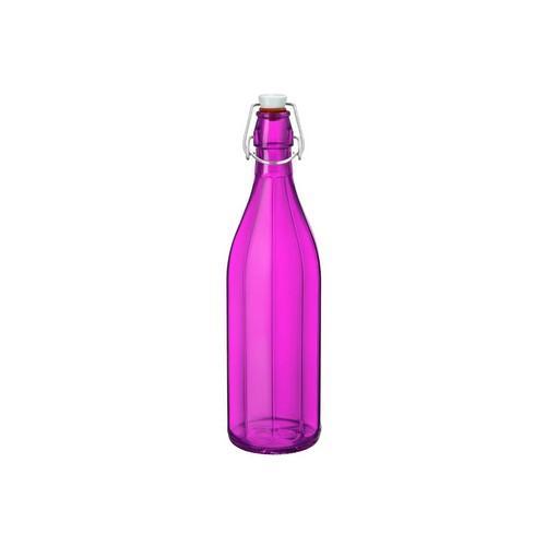 BOTTLE GLASS 1L FUCHSIA OXFORD BORMIOLI ROCCO