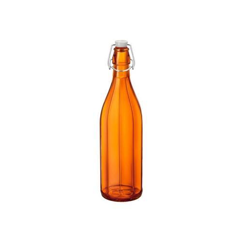 BOTTLE GLASS 1L ORANGE OXFORD BORMIOLI ROCCO