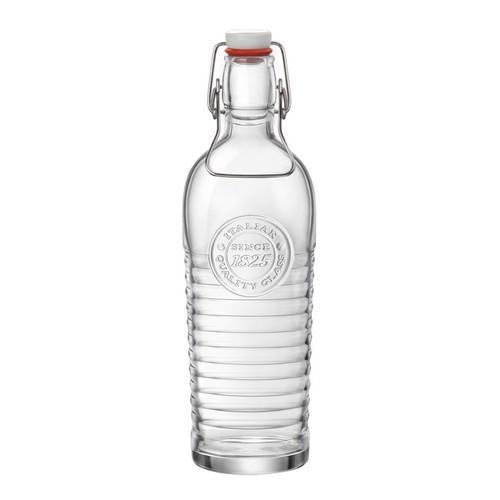 BOTTLE GLASS 1.2L CLEAR OFFICINA 1825 BORMIOLI ROCCO