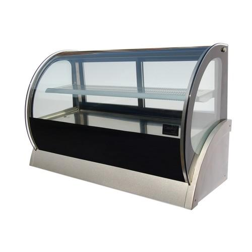 COLD DISPLAY COUNTERTOP SHOWCASE CURVED GLASS 900MM ANVIL AIRE