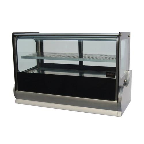 HOT DISPLAY COUNTERTOP SHOWCASE CURVED GLASS 900MM ANVIL AIRE
