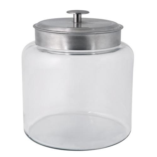 JAR STORAGE GLASS 5.7L MATT LID MONTANA ANCHOR