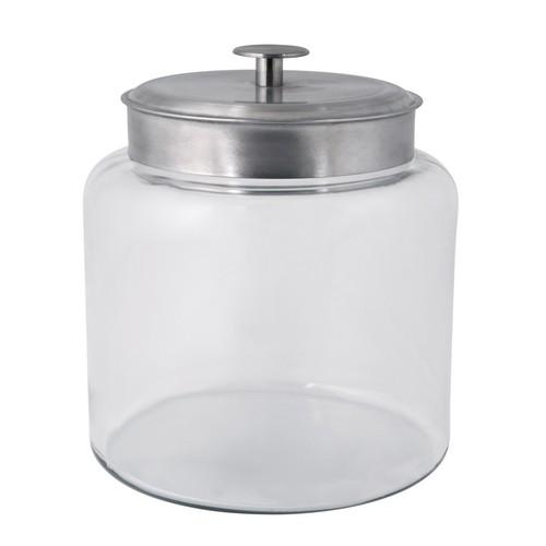 JAR STORAGE GLASS 9.5L MATT LID MONTANA ANCHOR